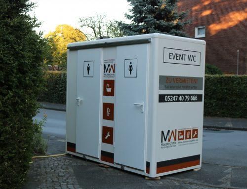 Exklusiver Toilettenwagen für Ihre Events