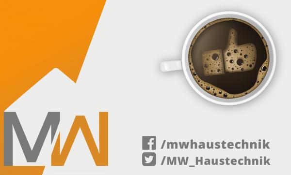 MW Haustechnik auf Facebook & Twitter