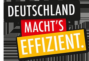 Deutschland machts effizient Logo