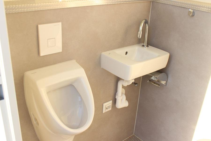 Event WC Innenansicht Herren